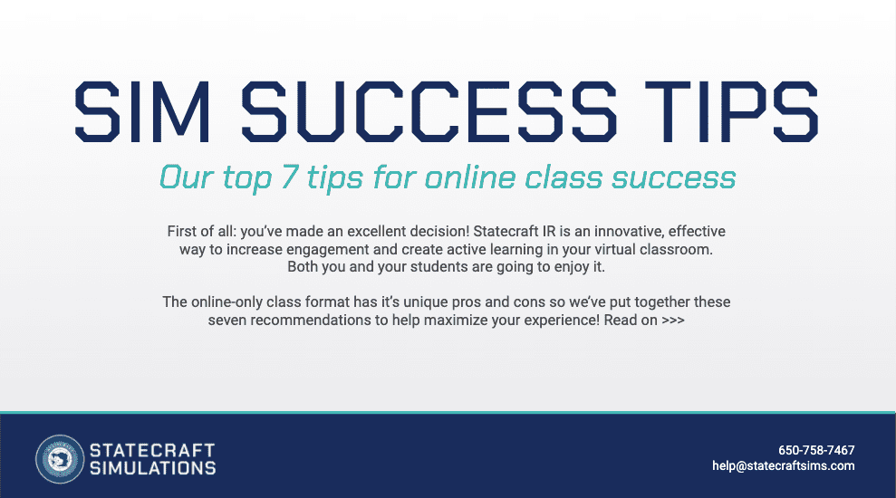 Sim Success Tips Screenshot